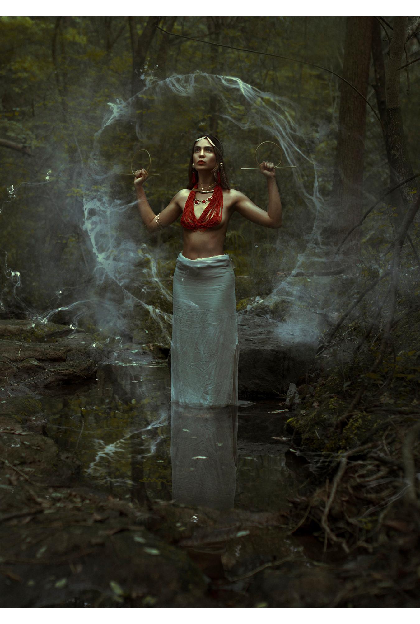 Anna Puente, en test shoot por Jurgen Alexander